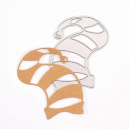 Weihnachtsmütze Stanzschablone von Vaessen Creative