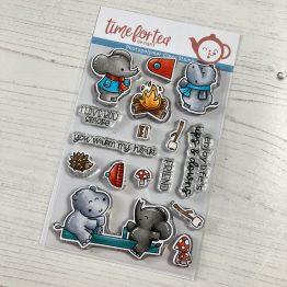 Stempel, Clear Stamps, Elefanten, Tiere