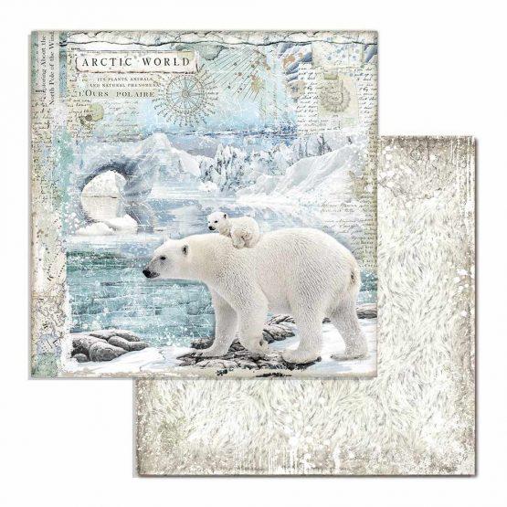 Papier, Eisbär, Winter, Bär, Motiv